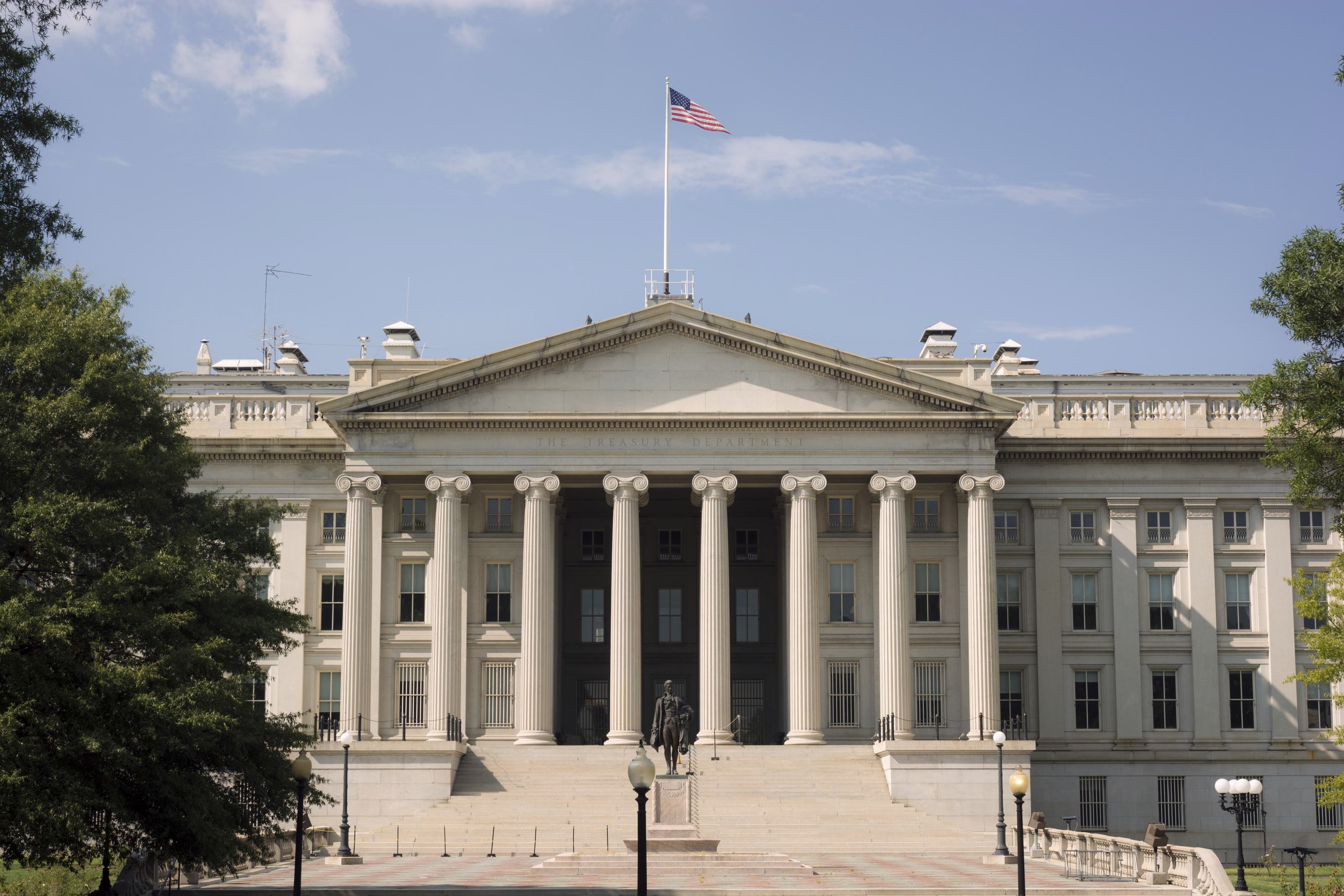 United States Department of the Treasury in Washington, DC